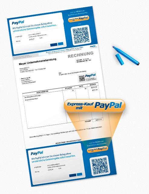 papierrechnungen k nnen jetzt mit paypal bezahlt werden. Black Bedroom Furniture Sets. Home Design Ideas